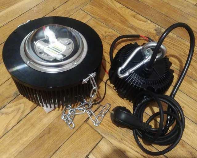 Первый светильник на базе матрицы SGP