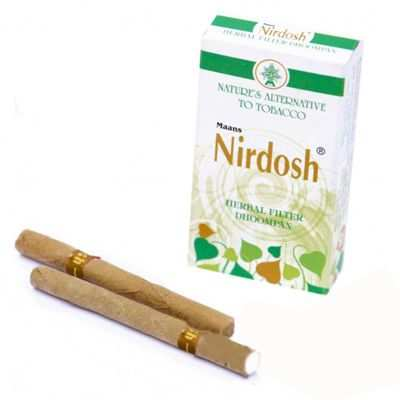 Нирдош (Nirdosh). Сигареты без табака с ароматическими целебными травами. 27 грн/3,38$/107руб