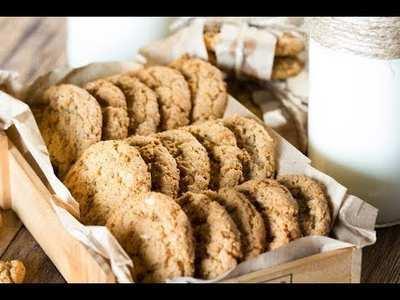 Овсяное канна печенье
