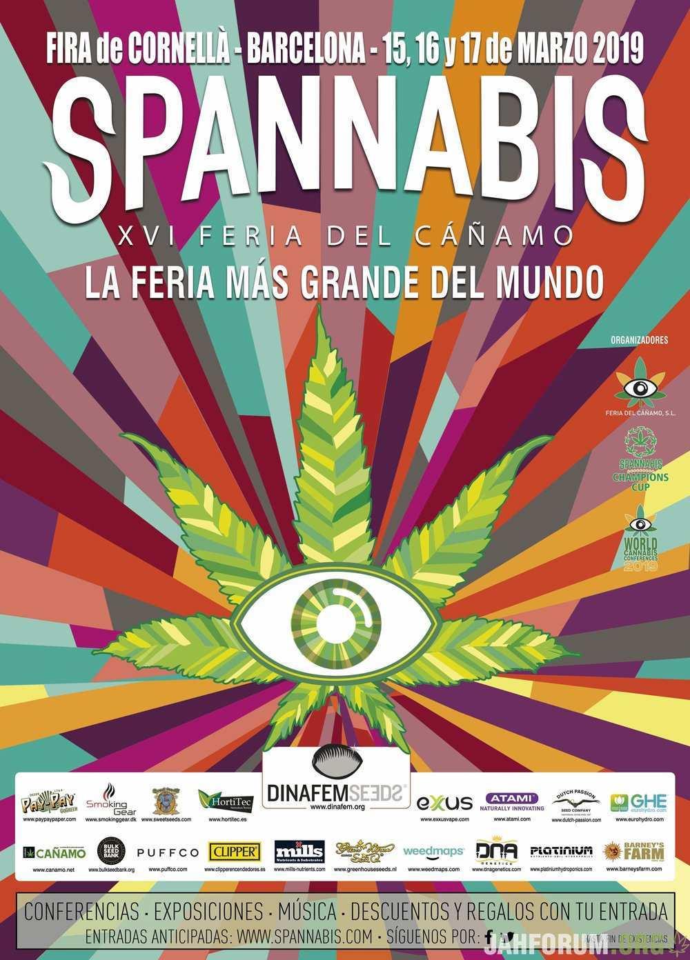 Spannabis 2019 Barcelona edition / Спаннабис 2019