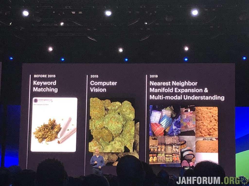 Facebook обучает алгоритмы соцсети распознавать фото с марихуаной для их блокировки
