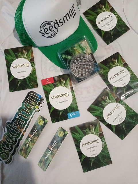 SEEDMEN тест семян